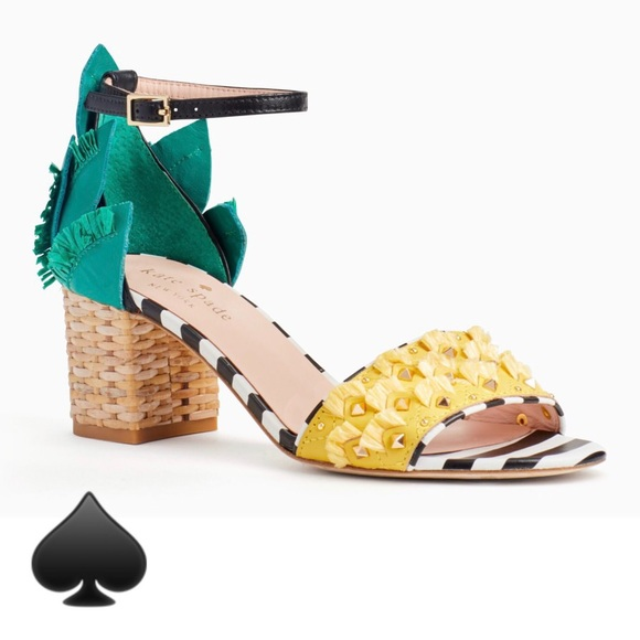 c14579b0159b Kate Spade Wiatt Heels Pineapple Sandals